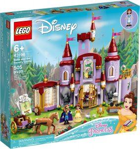 lego 43196 belle och odjurets slott