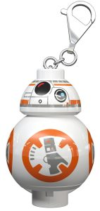 lego 5005298 sw bb 8 droid nyckelring med lampa