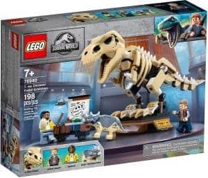 lego 76940 fossilutstallning med t rex