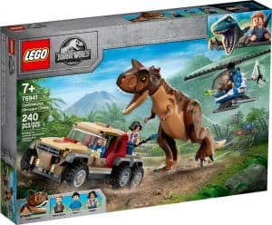 lego 76941 dinosauriejakt med carnotaurus