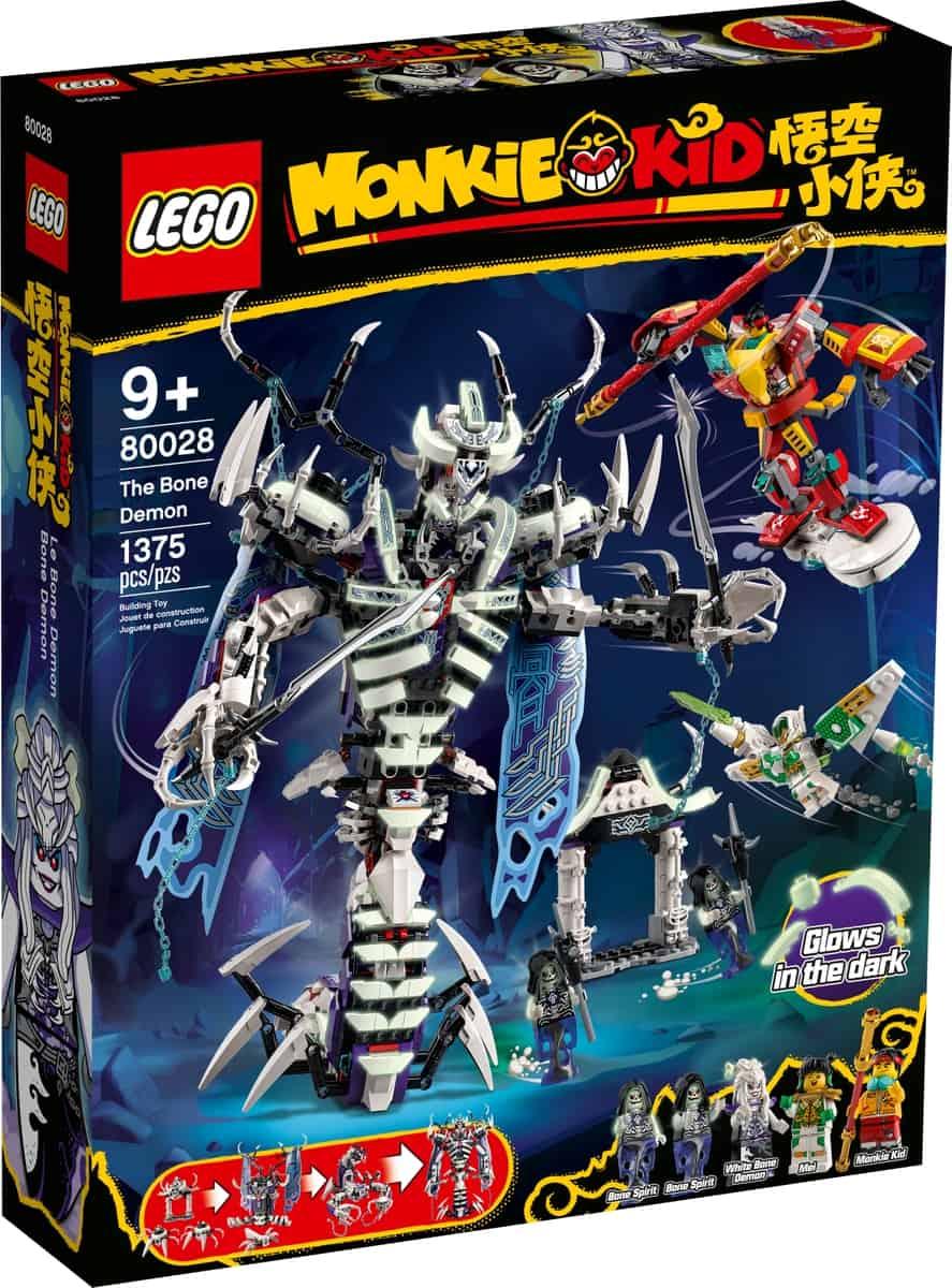 lego 80028 bone demon