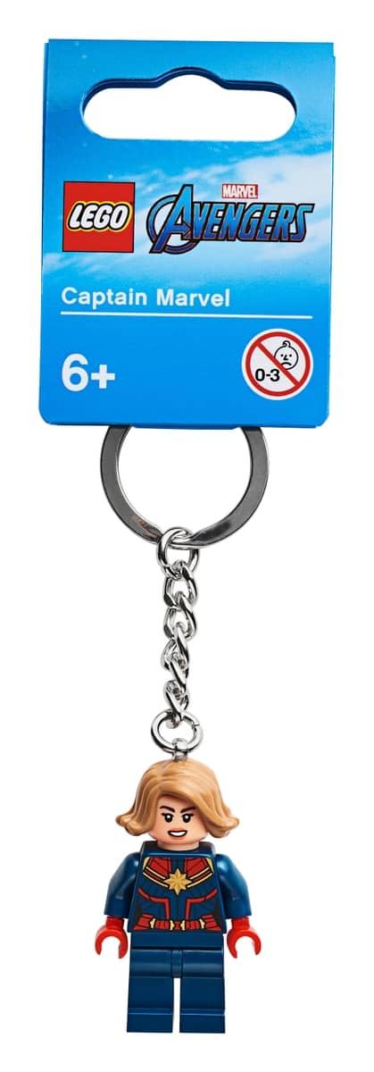 lego 854064 nyckelring med captain marvel