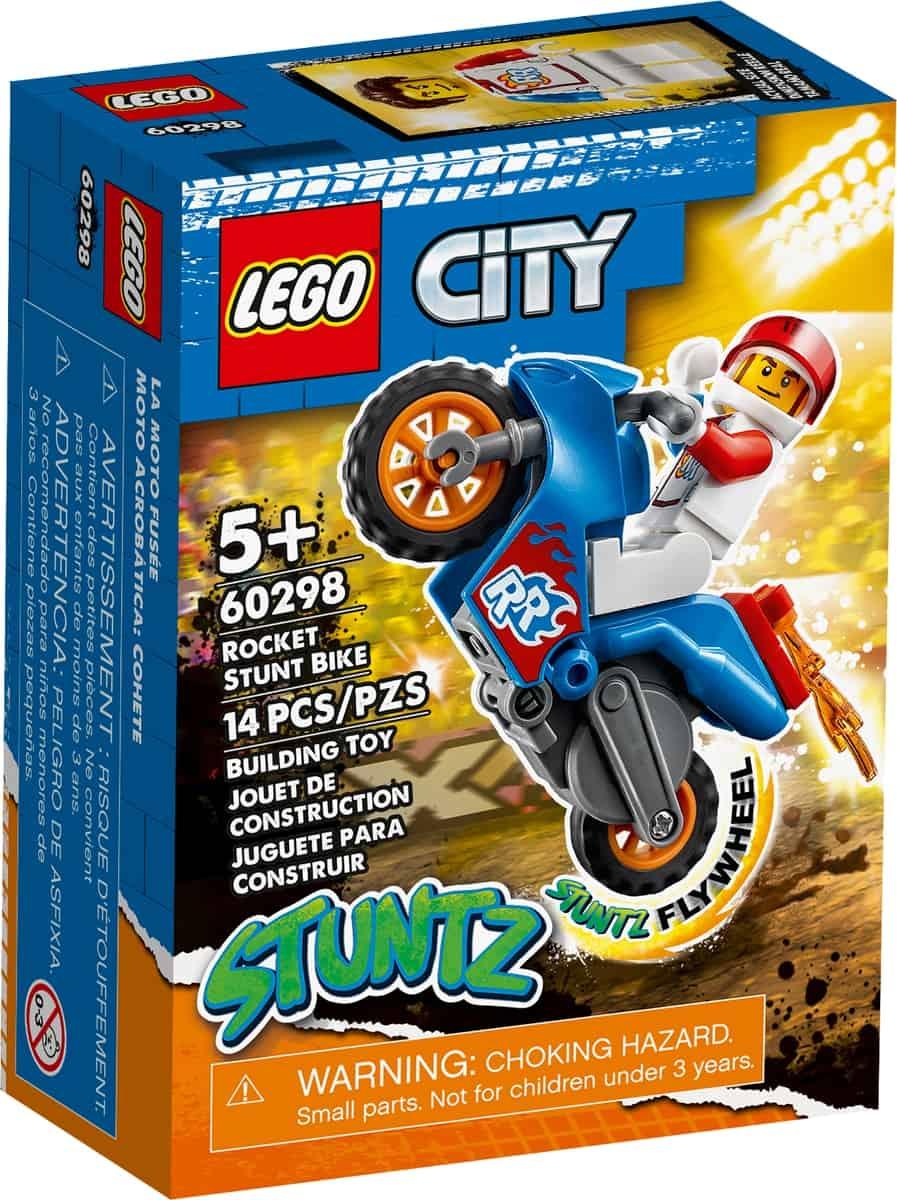 lego 60298 stuntcykel med raket