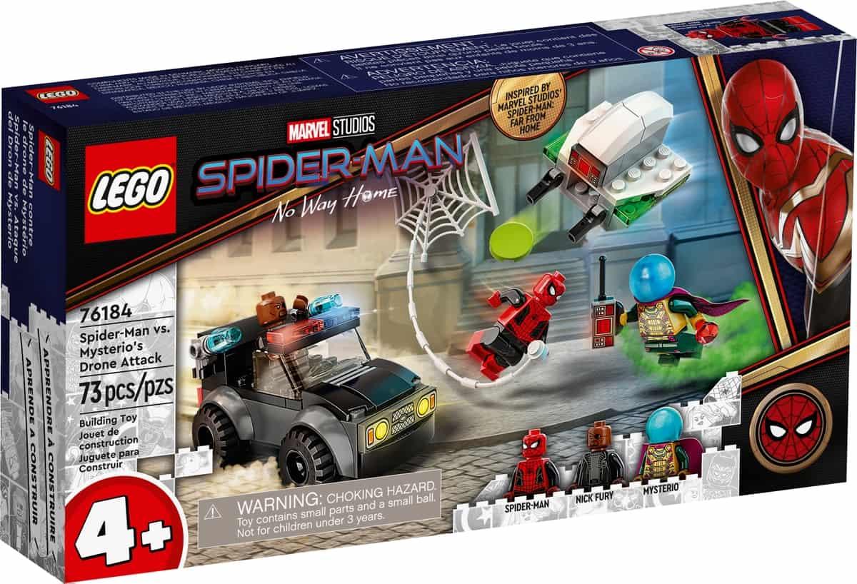 lego 76184 spider man mot mysterios dronarattack