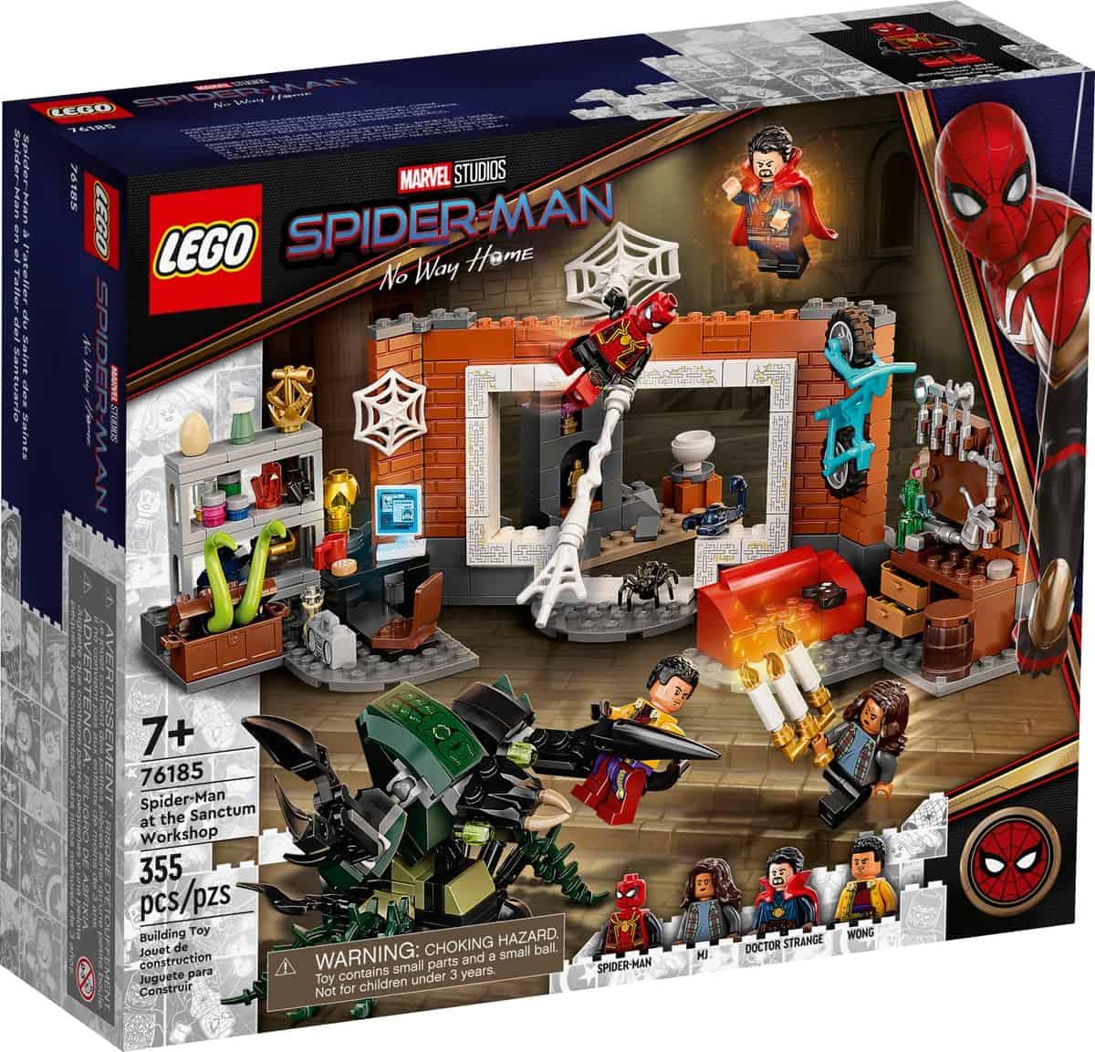 lego 76185 spider man i sanctum workshop