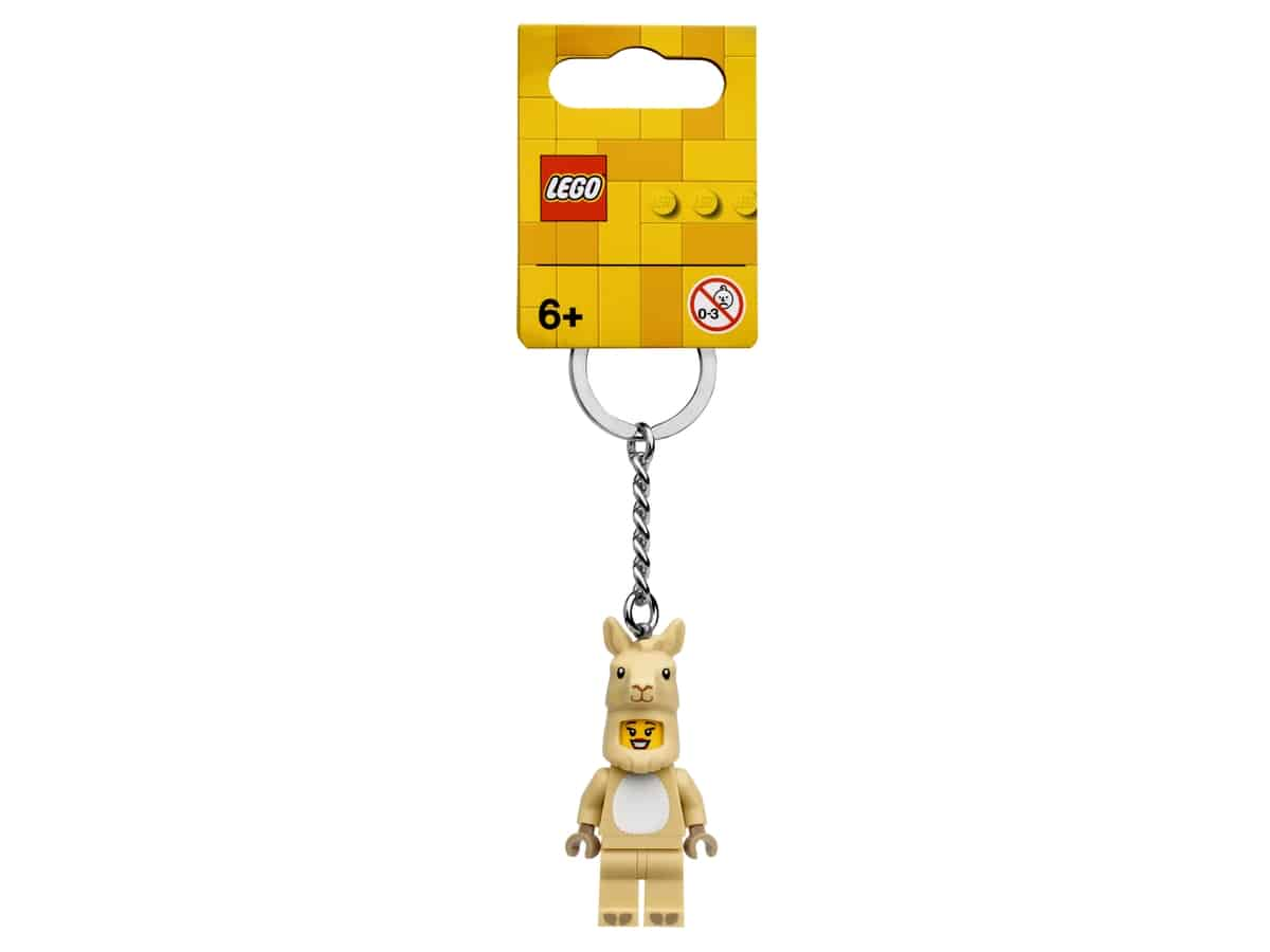 lego 854081 nyckelring lamatjej