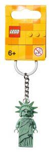 lego 854082 nyckelring frihetsgudinnan