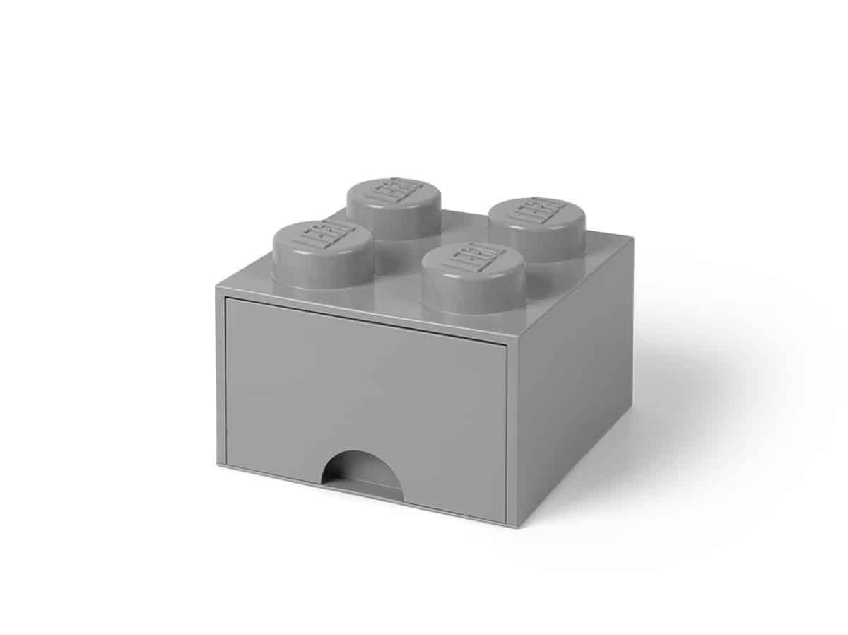 mellangra lego 5005713 forvaringskloss med 4 pluppar och lada