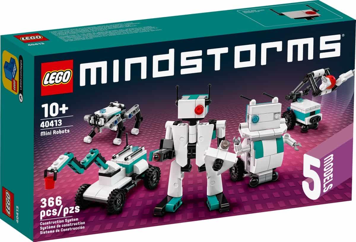 lego 40413 mindstorms minirobotar
