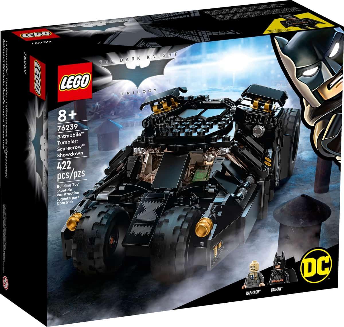 lego 76239 dc batman batmobile tumbler striden mot scarecrow