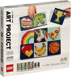 lego 21226 konstprojekt skapa tillsammans