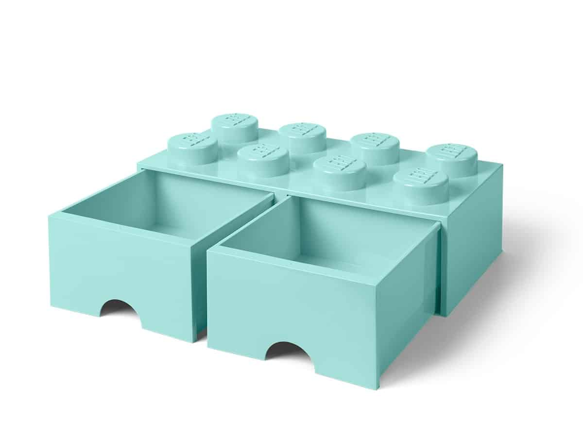 lego 5006182 frvaringskloss med 8knoppar havsbl