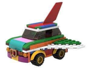 lego 5006890 ombyggbar flygande bil